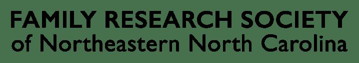 Family Research Society of Northeastern North Carolina
