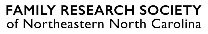 Family Research Society of Northeastern North Carolina